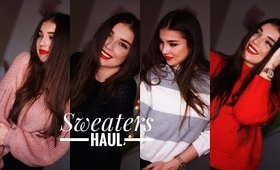 SHEIN SWEATERS // JUMPERS TRY-ON HAUL