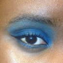 Eye makeup (sorry for the grandpa brow lol)