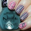 Nicole by OPI Carnival Cotton Candy and Goodbye Shoes Look