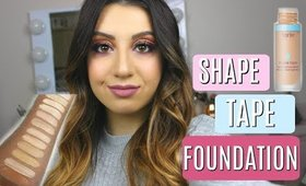 Tarte Shape Tape Foundation: As Good as Shape Tape Concealer?? First Impression