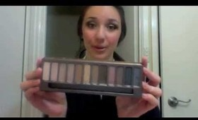 Greek goddess inspired tutorial || FEATURING THE URBAN DEKAY NAKED PALETTE !
