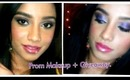 Giveaway + Prom makeup tutorial for brown skin & winner announcement.