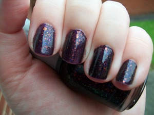 Orly Fowl Play Nail Polish  To read my review of the polish please visit my blog: www.mazmakeup.blogspot.com