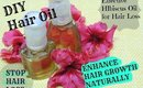 STOP HAIR LOSS & ENHANCE HAIR GROWTH NATURALLY Effective Hibiscus Oil Treatment at home