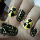 Radioactive nails