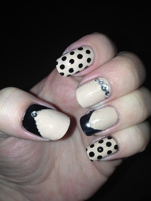 OPI Don't Pretzel My Buttons & Models Own Black