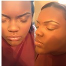 My beautiful twin sister makeup by me