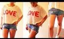 OOTD- High Waisted Shorts & Converse!♡ | rpiercemakeup