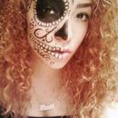 Mexican inspired skull.