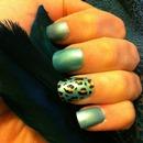 Turquoise Leopard Print!