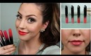 Rimmel Show Off Lip Lacquers Review & Lip Swatches!
