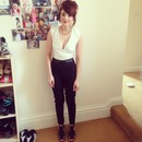 Wearing missguided and new look to shortlist magazine and dockers at liberty london