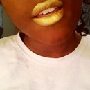 Gloriously Golden Lipstick