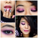 Pink & Purple Loli Makeup