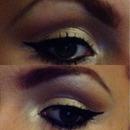 Day makeup eyes