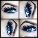 Sultry purple eyes for Valentines Day