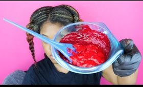 How To Dye Your Hair Bright Red Safely | Samirah Gilli