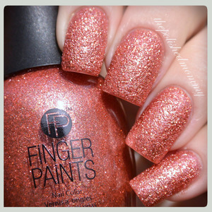 Swatch and review: http://www.thepolishedmommy.com/2014/02/fingerpaints-hammered-terra-cotta.html  #fingerpaints #sallybeauty #purchasedbyme