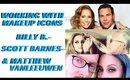 Working w/ Pro Makeup Artists Billy B., Scott Barnes, Matthew VanLeeuwen - mathias4makeup