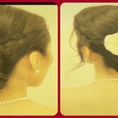 ★ WEDDING CHIGNON Low BRAIDED Sock BUN UPDO on Long Hair
