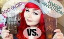 Too Faced Chocolate Bar Palette VS Makeup Revolution I Heart Chocolate Palette | DUPE