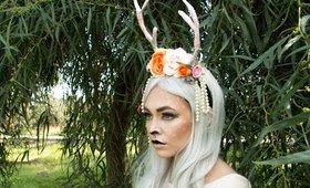 Deer Makeup Look