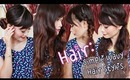 ♡Hair: 5 Simple Wavy Hair Dos Under 10 Minutes