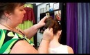 1033 Main Salon & Spa: Quick, Easy & Elegant Faux French Roll Updo