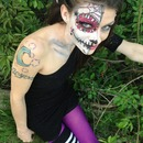 Day of the dead Hair and MakeUp Artist Christy Farabaugh