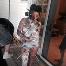 Behind the Scenes -Zombie Pinup