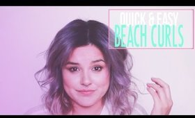 EASY & QUICK FESTIVAL BEACH HAIR DO | KAZ IN LOVE
