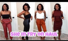 TRY-ON HAUL! SHE IN & RAINBOW