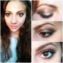 makeup look done