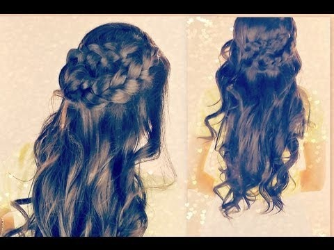 Astounding Hair Tutorial Plait Curly Prom Hairstyles For Long Hair With Braid Short Hairstyles Gunalazisus
