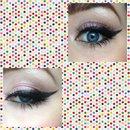 Simple cute eyemakeup :)