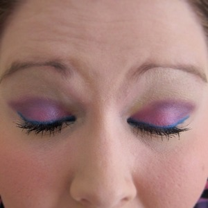 Physicians Formula Eye Shimmer palette and Urban Decay Pencil