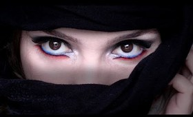 Arabic Makeup: Electro Nights