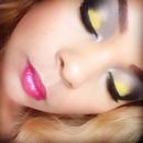 Peek-a-boo eyeshadow
