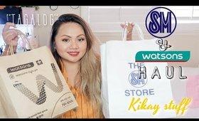 PHILIPPINES HAUL | PANG-KIKAY | SM, WATSONS, ETUDE, ETC.