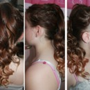 Ombre Curly Hair