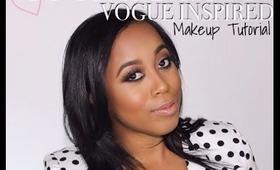 Kim Kardashian Vogue Cover Inspired Makeup