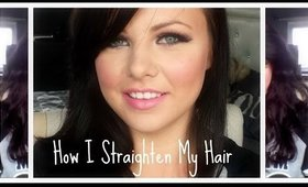 How I Straighten My Hair From Really Curly Hair