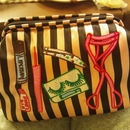 My lovely makeup bag:)