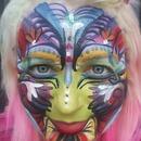 Crazy color face!