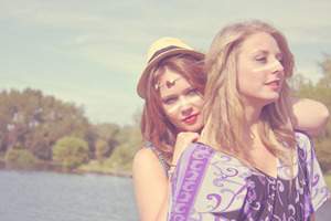 Models: Holly Ashman & Helen Wright Photographer & Make-Up: Simone Kelly  © Simone Kelly, 2012 Moral Rights Asserted.