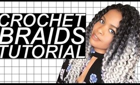 OMBRE TWIST OUT CROCHET BRAIDS TUTORIAL