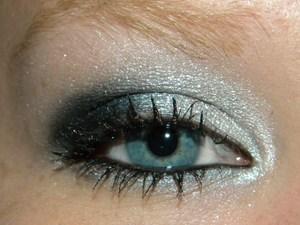Night makeup.