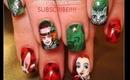 ALICE IN WONDERLAND the saga continues: robin moses nail art tutorial