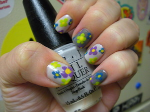 OPI Moon Over Mubai, Who The Shrek Are You, Misa Happy Happy,China Glaze Recycle and Shower Together