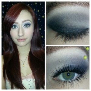 My makeup that I did yesterday